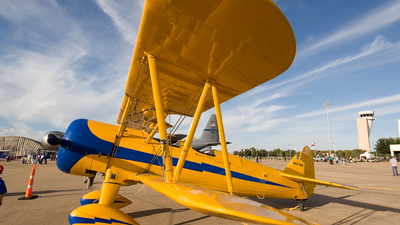 A picture of N621SR - BoeingStearman Model 75 - [753092] - © Adrian Jack - AirTeamImages