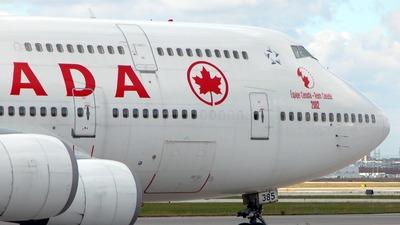C-FGHZ - Boeing 747-4F6 - Air Canada