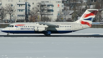 G-BZAX - British Aerospace Avro RJ100 - British Airways (CityFlyer Express)
