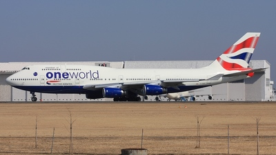 G-CIVP - Boeing 747-436 - British Airways