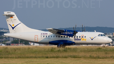D-BCRN - ATR 42-300 - InterSky (Avanti Air)