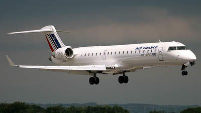 F-GRZN - Bombardier CRJ-702 - Air France (Brit Air)