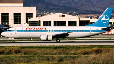 LX-LGG - Boeing 737-4C9 - Futura International Airways (Luxair - Luxembourg Airlines)