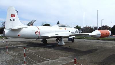 54-1543 - Lockheed T-33A Shooting Star - Turkey - Air Force