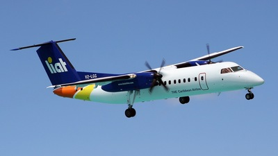 V2-LGG - Bombardier Dash 8-311 - Leeward Islands Air Transport (LIAT)