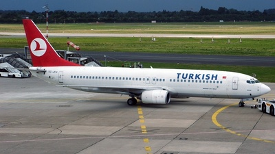TC-JFH - Boeing 737-8F2 - Turkish Airlines