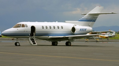 N501K - Raytheon Hawker 800XP - Private