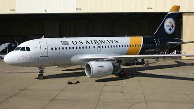 N733UW - Airbus A319-112 - US Airways