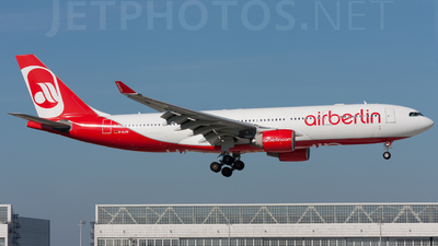 D-ALPE - Airbus A330-223 - Air Berlin (LTU)