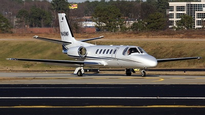 N45NF - Cessna 550 Citation II - Private