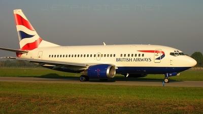 G-GFFJ - Boeing 737-5H6 - British Airways