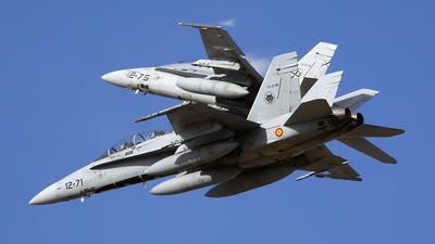 CE.15-08 - McDonnell Douglas EF-18B+ Hornet - Spain - Air Force