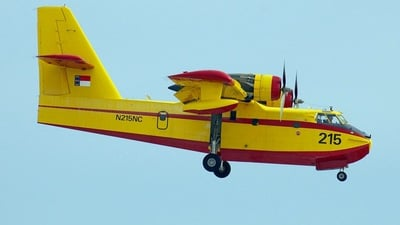 N215NC - Canadair CL-215T - United States - State of North Carolina