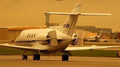 N25BB - British Aerospace BAe 125-800A - Private