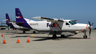 N844FE - Cessna 208B Super Cargomaster - FedEx Feeder (West Air)