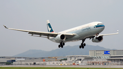 B-LAE - Airbus A330-343 - Cathay Pacific Airways