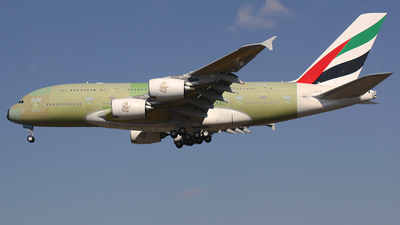 F-WWSN - Airbus A380-861 - Airbus Industrie