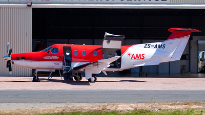 ZS-AMS - Pilatus PC-12/47 - Air Mercy Services (AMS)