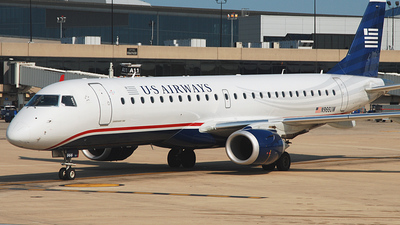 N966UW - Embraer 190-100IGW - US Airways