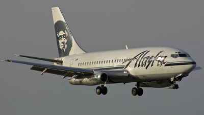 N743AS - Boeing 737-210C(Adv) - Alaska Airlines