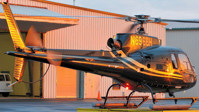 N696BH - Eurocopter AS 350B2 Ecureuil - Broadcast Helicopter