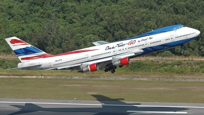 HS-UTH - Boeing 747-146 - One-Two-GO by Orient Thai