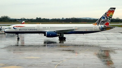 G-BPED - Boeing 757-236 - British Airways
