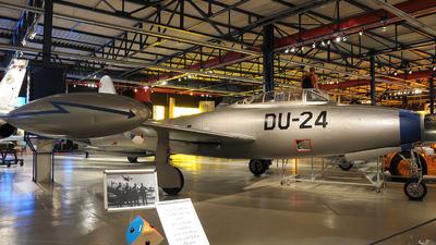 K-171 - Republic F-84G Thunderjet - Netherlands - Royal Air Force