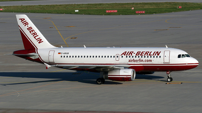 D-ABGB - Airbus A319-132 - Air Berlin