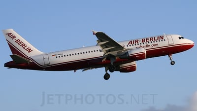 D-ABDJ - Airbus A320-214 - Air Berlin