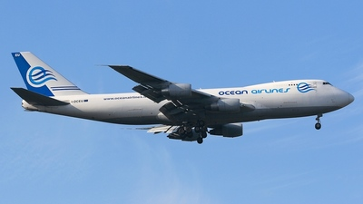 I-OCEU - Boeing 747-230F(SCD) - Ocean Airlines