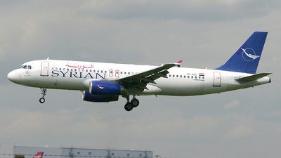 YK-AKC - Airbus A320-232 - Syrianair - Syrian Arab Airlines