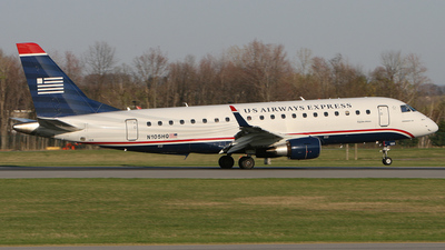 N105HQ - Embraer 170-200LR - US Airways Express (Republic Airlines)