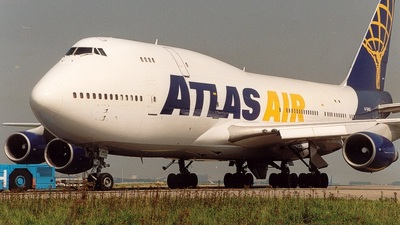 N24837 - Boeing 747-329(SF) - Atlas Air