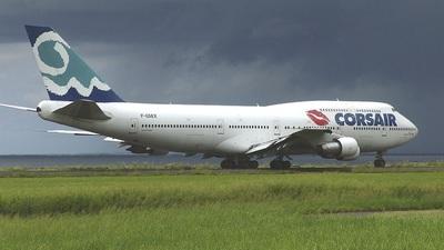 F-GSEX - Boeing 747-312 - Corsair