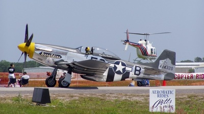 N5500S - North American P-51D Mustang - Private