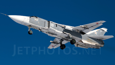 18 - Sukhoi Su-24M Fencer - Russia - Air Force
