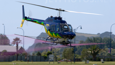 ZK-HQR - Bell 206B JetRanger II - Skywork Helicopters