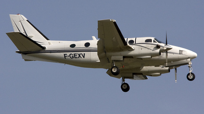 F-GEXV - Beechcraft A100 King Air - Private