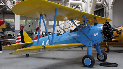 G-RJAH - Boeing A75N1 Stearman - Private