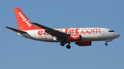 G-EZJB - Boeing 737-73V - easyJet