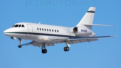 N635E - Dassault Falcon 2000 - Private