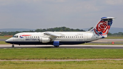 G-BZAV - British Aerospace Avro RJ100 - British Airways (CitiExpress)