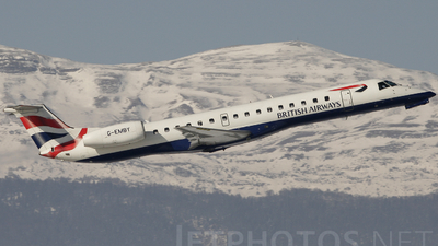 G-EMBY - Embraer ERJ-145EU - British Airways (CitiExpress)
