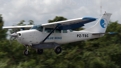 PZ-TSC - Cessna U206G Stationair - Blue Wing Airlines