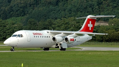 HB-IXQ - British Aerospace Avro RJ100 - Swiss