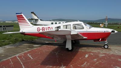 A picture of GBIDI - Piper PA28R201 - [28R7837135] - © D Kelly- IoM Pics