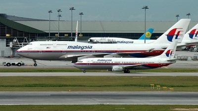9M-MQC - Boeing 737-4H6 - Malaysia Airlines