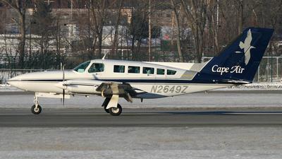 A picture of N2649Z - Cessna 402C - Cape Air - © Daniel Evans