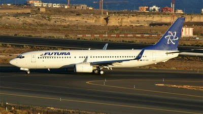 EC-IUC - Boeing 737-86N - Futura International Airways